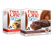 FIBER ONE 90 CALORIE BROWNIE BAR BARRAS PROTEINAS 12 UN VARIETY